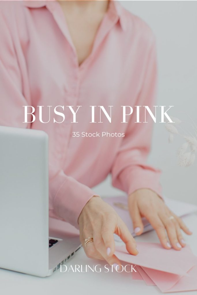 Busy in Pink